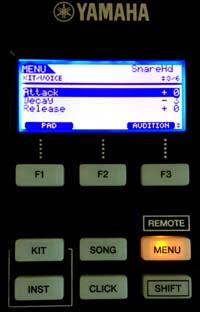 DTX700 Voice Parameters